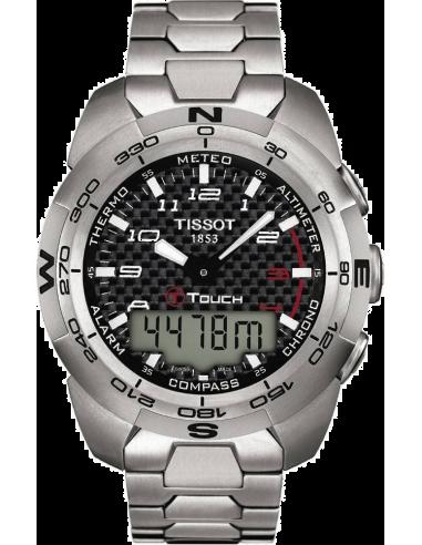 Chic Time | Montre Tissot T-Touch Expert Titanium T013.420.44.202.00 pour Homme  | Prix : 970,00€