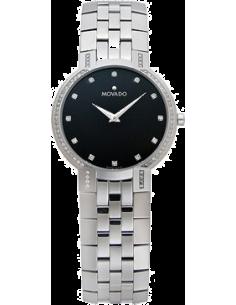 Chic Time | Montre Homme Movado Faceto Diamond 0605585  | Prix : 1,910.90