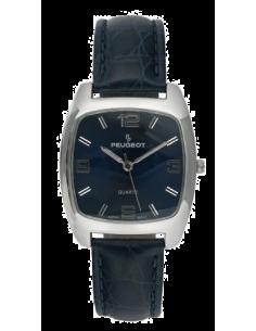Chic Time | Montre Femme Peugeot PQ8246-BL Bracelet cuir bleu  | Prix : 52,90€