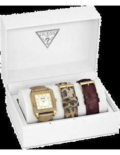 Chic Time | Montre Guess W0068L2 Animal Coffret Cadeau avec 3 bracelets  | Prix : 137,40€