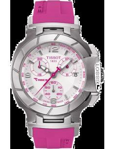Chic Time | Montre Femme Tissot T-Race Rose T0482171701701  | Prix : 520,00€