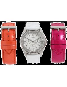 Chic Time | Montre Femme Guess U12624L2 Hi-Energy Coffret Cadeau  | Prix : 191,20€