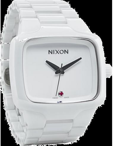 Chic Time | Montre Nixon Homme Ceramic Player A145-126 blanc  | Prix : 779,00€