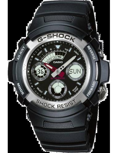 Chic Time | Montre Homme Casio G-Shock Noire AW-590-1AER Résine noire  | Prix : 59,00€