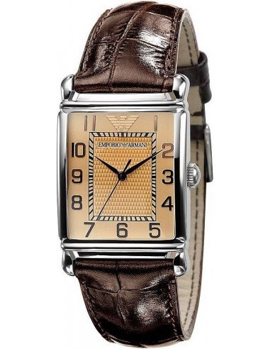 Chic Time | Montre Emporio Armani Homme AR0403 Bracelet Cuir  | Prix : 244,90€