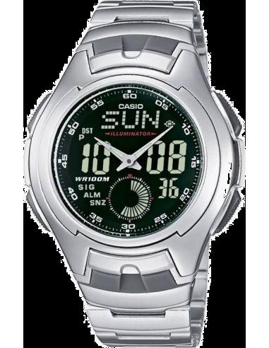 Chic Time | OUTLET - Montre Homme Casio AQ-160WD-1BVDF Argent  | Prix : 59,00€