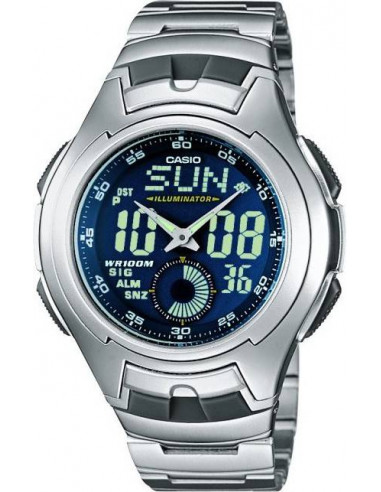 Chic Time | Montre Casio Active Dial AQ-160WD-2BVEF  | Prix : 59,00€