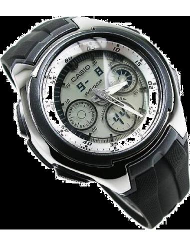 Chic Time | Montre Homme Casio Active Dial AQ-163W-7B1VEF  | Prix : 44,90€