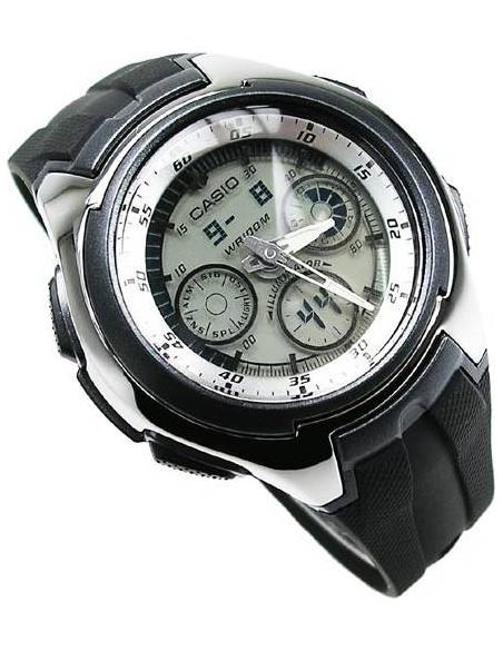 Chic Time   Montre Homme Casio Active Dial AQ-163W-7B1VEF    Prix : 44,90€