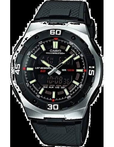 Chic Time | Montre Homme Casio AQ-164W-1AVES Noir  | Prix : 43,90€