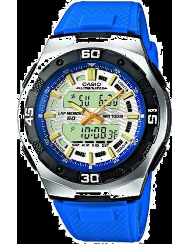 Chic Time | Montre Casio Active Dial AQ-164W-2AVEF  | Prix : 37,90€