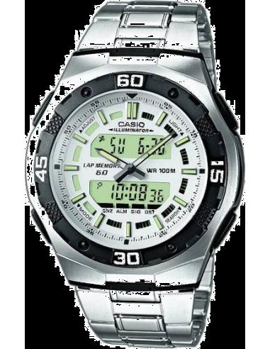 Chic Time   Montre Homme Casio Active Dial AQ-164WD-7AVEF    Prix : 68,99€