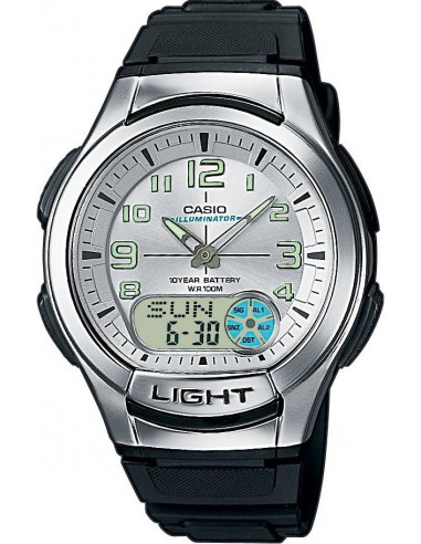 Chic Time | Montre Homme Casio Collection AQ-180W-7BVES  | Prix : 33,10€