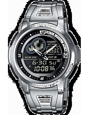 Chic Time | Montre Casio AQF-102WD-1BVEF Argent  | Prix : 75,00€