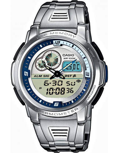 Chic Time | Montre Casio Collection AQF-102WD-2BVEF  | Prix : 54,90 €