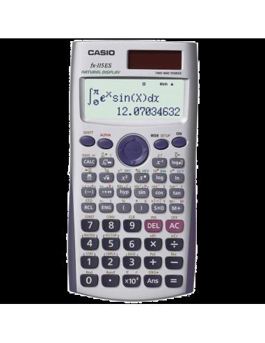 Chic Time   Calulatrice Scientifique 2 Lignes Casio FX-115ES    Prix : 38,90€
