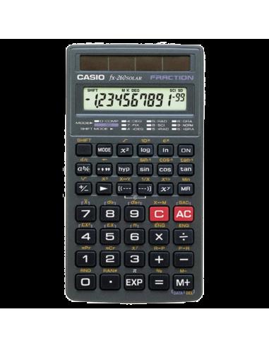 Chic Time   Calulatrice Casio Fraction FX-260 Solar    Prix : 17,90€