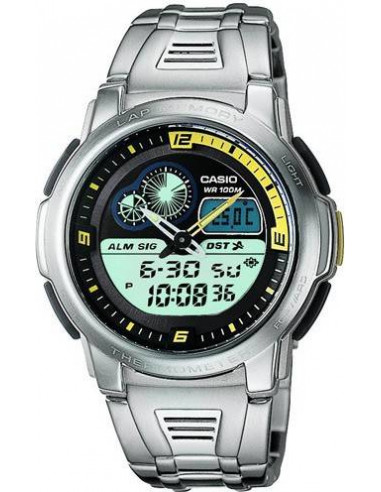 Chic Time | Montre Casio Collection AQF-102WD-9BVEF  | Prix : 59,90 €