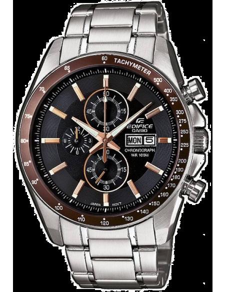 Chic Time | Montre Homme Casio Edifice EFR-502D-5AVEF Argent  | Prix : 134,01€