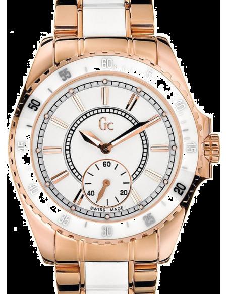 Chic Time | Montre Femme Guess Collection G47003L1 Blanc  | Prix : 435,60€