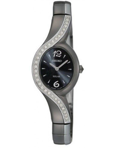 Chic Time | Montre Femme Seiko SUP123 Noir  | Prix : 250,00€