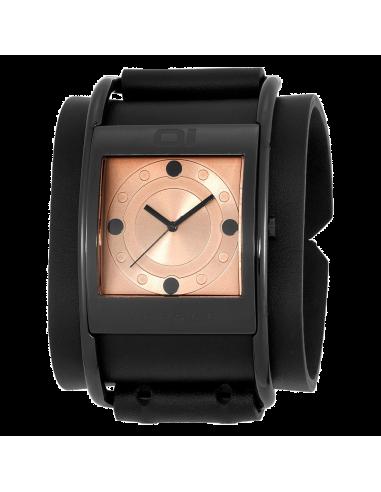 Chic Time | Montre Mixte The One AN02G03 Bow Copper Bracelet large en cuir  | Prix : 199,00€