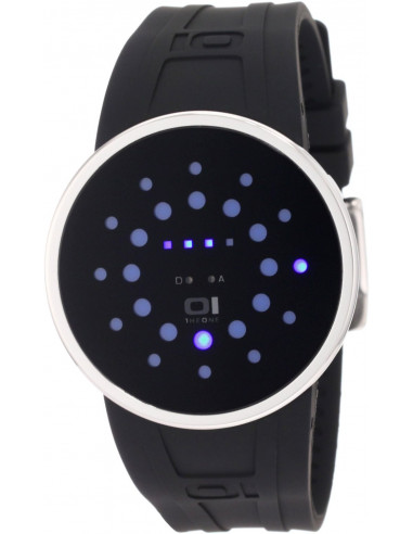 Chic Time | Montre Homme The One SLR102B3 Slim Round Alternative LED bleues  | Prix : 141,99€