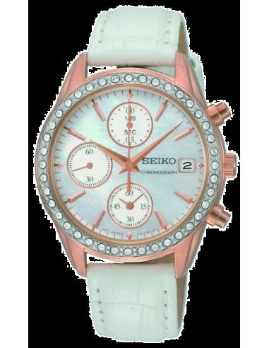 Chic Time | Montre Femme Seiko Chronographe SNDY16  | Prix : 169,90€