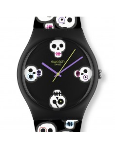 Chic Time | Montre Mixte Swatch GZ269 DIA DE MUERTOS   | Prix : 44,90 €