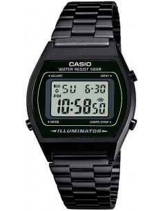Chic Time | Montre Mixte Casio Collection B640WB-1AEF Noir  | Prix : 59,00 €