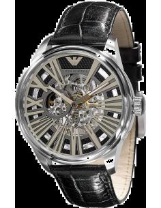 Chic Time | Montre Homme Emporio Armani AR4629 Meccanico à fond transparent  | Prix : 289,00€