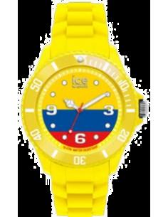 Chic Time | Montre Mixte Ice-World WO.CO.B.S.12 Jaune Cadran tricolore  | Prix : 29,97€