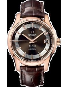 Chic Time   Montre Omega homme De Ville Co-Axial Hour Vision Or Rose    Prix : 13,855.00