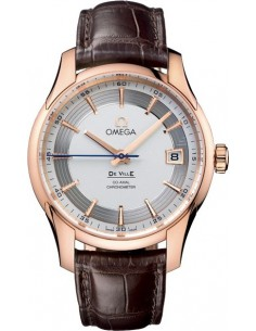 Chic Time | Montre Omega homme De Ville Co-Axial Hour Vision Or Rose  | Prix : 13,855.00