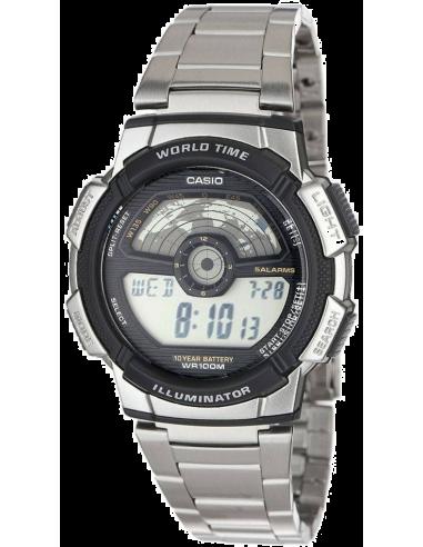 Chic Time | Montre Homme Casio AE-1100WD-1AVEF Argent  | Prix : 31,92€