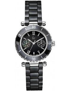 Chic Time | Montre Femme Guess Collection GC 35003L2 Diver Bracelet En Céramique I35003L2  | Prix : 465,00 €