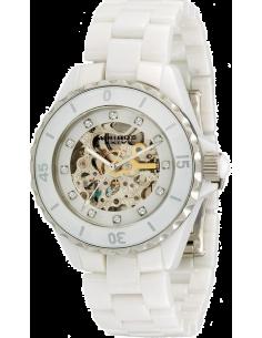 Chic Time | Montre Femme Akribos XXIV AK508WT Bracelet blanc en céramique  | Prix : 211,25€