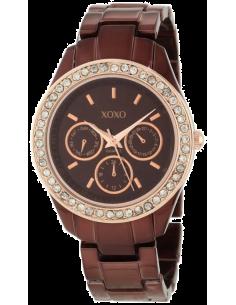 Chic Time | Montre Femme XOXO Rhinestones Accent XO5506  | Prix : 59,90€