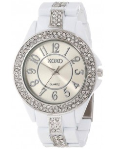 Chic Time | Montre Femme XOXO Rhinestones Accent XO5460  | Prix : 39,90€