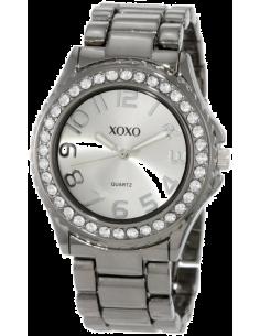 Chic Time   Montre Femme XOXO XO5311 Grise Strass sur la lunette    Prix : 39,90€