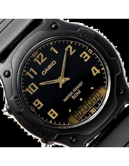 Chic Time | Montre Homme Casio Collection AW-49H-1BVEF Noir  | Prix : 20,99€