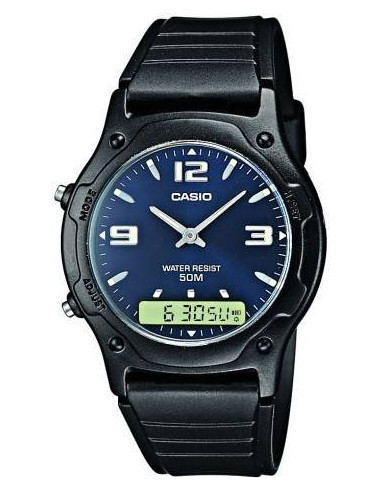 Chic Time | Montre Homme Casio AW-49HE-2AVEF Noir  | Prix : 29,00€