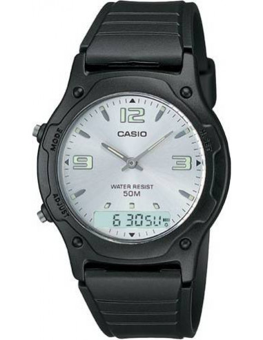 Chic Time | Montre Homme Casio AW-49HE-7AVUDF Noir  | Prix : 31,92 €