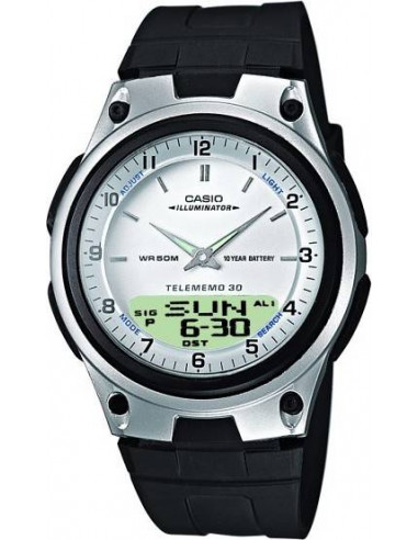 Chic Time | Montre Casio Collection Multifonctions Homme Digitale/Analogique AW-80-7AVES  | Prix : 29,90€
