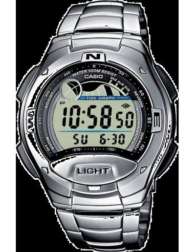 Chic Time | Casio Casio W-753D-1AVES Argent  | Prix : 37,00€