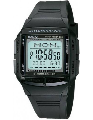 Chic Time | Montre Homme Casio Data Bank DB-36-1AVEF  | Prix : 39,90 €