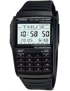 Chic Time | Montre Homme Casio Data Bank Calculatrice DBC-32-1AES  | Prix : 29,25€