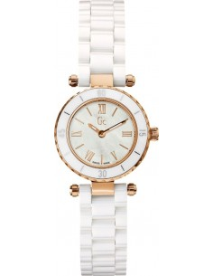 Chic Time | Montre Femme Guess Collection GC Ceramique X70011L1S Mini Chic  | Prix : 319,20 €