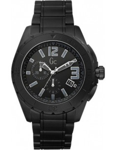 Chic Time | Montre Homme Céramique Guess Collection GC Sport Class XXL Blackout X76010G2S  | Prix : 639,20 €