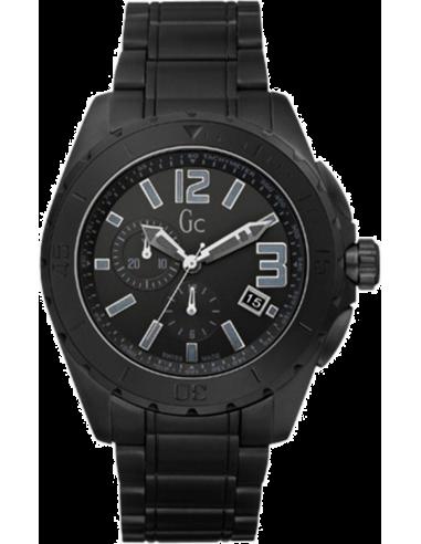 Chic Time | Montre Homme Céramique Guess Collection GC Sport Class XXL Blackout X76010G2S  | Prix : 639,20€